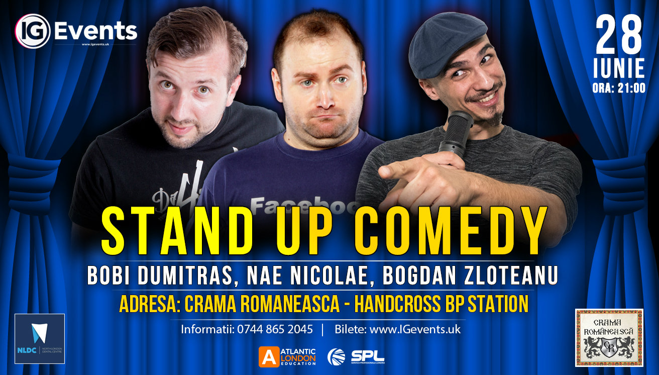 Stand Up Comedy Crama Romaneasca